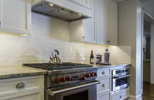 Tampa Seldes Designer Gas Range Kitchen