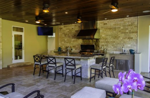 Seldes Tampa Outdoor Kitchen design