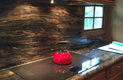 Seldes Tampa Designer Granite Backsplash