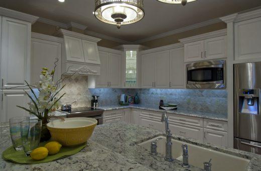 Seldes Tampa Designer Cabinet and lighting