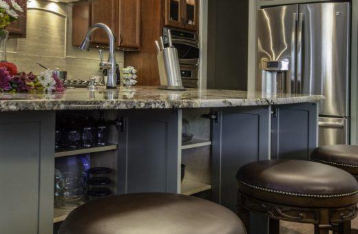 Seldes Tampa Designer Kitchen Island